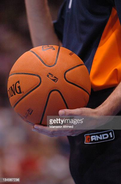 The Official Ball of the NBA during the NBA Europe Live Tour presented by EA Sports on October 10 2006 at the Koeln Arena in Cologne Germany