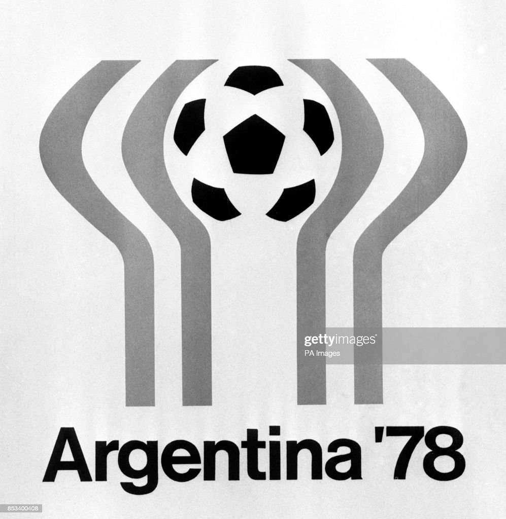 Soccer - FIFA World Cup - Argentina 1978 - Logo : News Photo