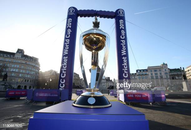 The official ICC Men's Cricket World Cup trophy tour began its 100-day journey of the country today transported in the 100% electric Nissan LEAF -...