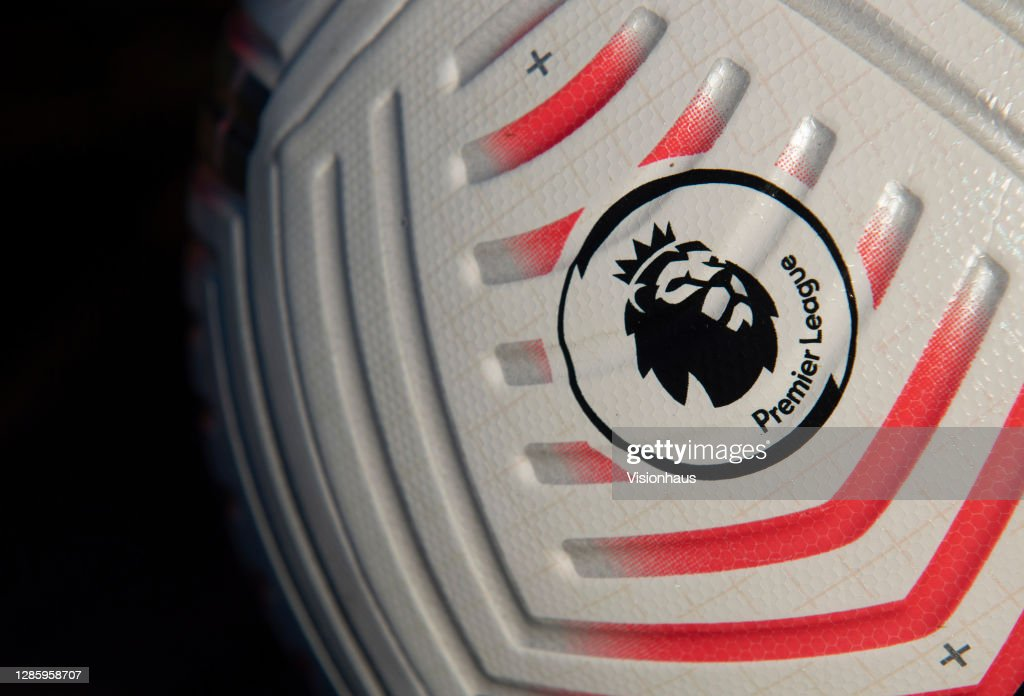The Official Nike Premier League Match Ball : News Photo