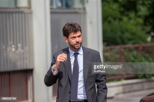 The official opening of the Fondazione Giovanni Agnelli In the picture Andrea Agnelli president of Juventus FC