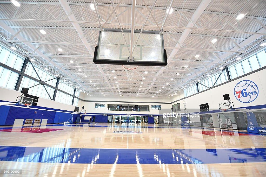 Philadelphia 76ers Training Complex : News Photo