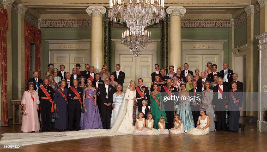 NORWAY-ROYAL WEDDING-FAMILY PICTURE : News Photo