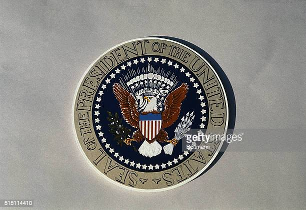 The official seal of the President of the United States.