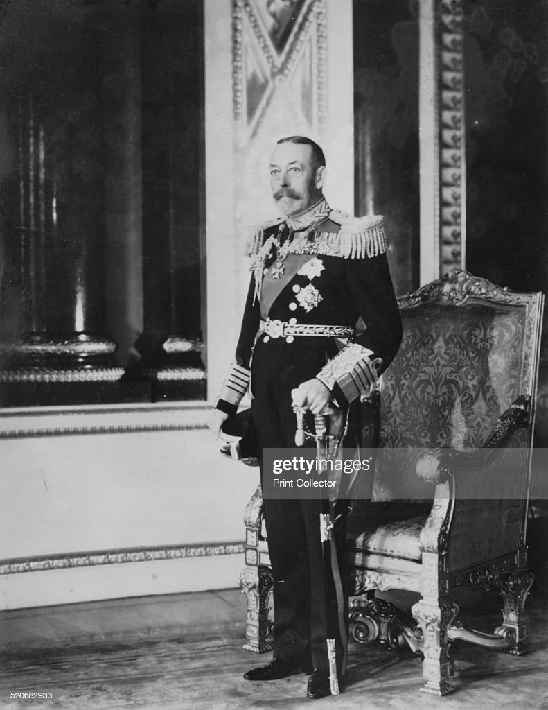 King George V (1865-1936) of the United Kingdom, 1935. Artist: Tuck and Sons : News Photo