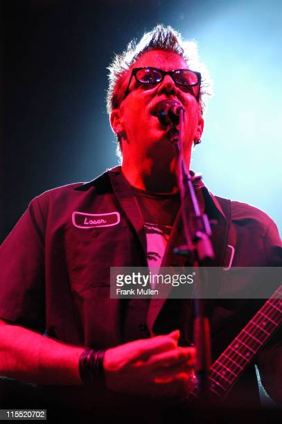 The Offspring during 11th Annual Music Midtown Festival Day 2 at Midtown and Downtown Atlanta in Atlanta Georgia United States