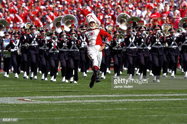The Ohio State University Marching Band during the game against the Miami Redhawks, September 3 in Columbus, Ohio. The Buckeyes beat the Redhawks...