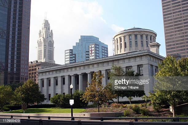 The Ohio Statehouse has been operating since 1857 in Columbus, Ohio.