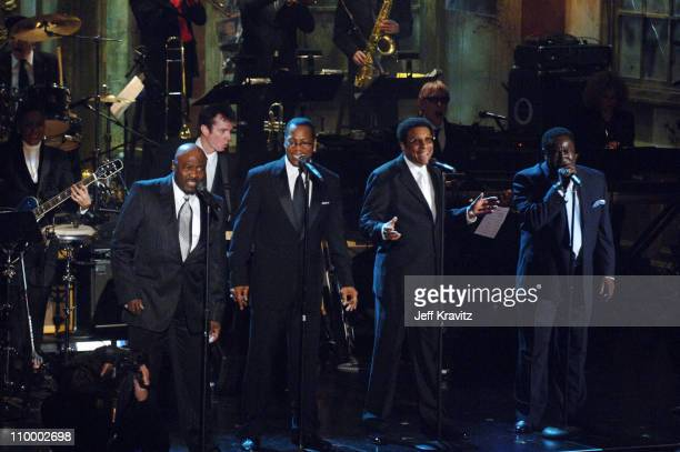 The O'Jays, inductees during 20th Annual Rock and Roll Hall of Fame Induction Ceremony - Show at Waldorf Astoria Hotel in New York City, New York,...