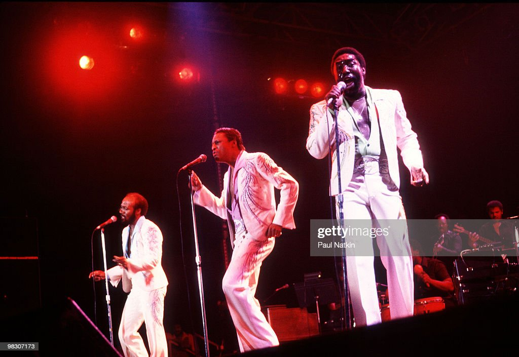 The O'Jays on 11/1/80 in Chicago, Il.