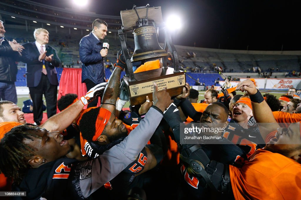 AutoZone Liberty Bowl - Missouri v Oklahoma State : News Photo