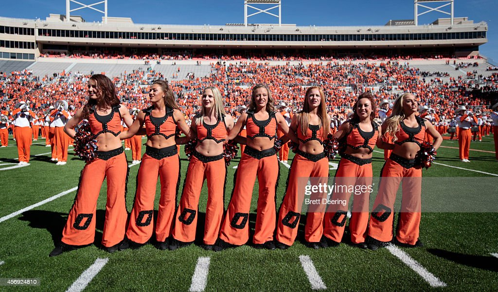 Iowa State v Oklahoma State : News Photo