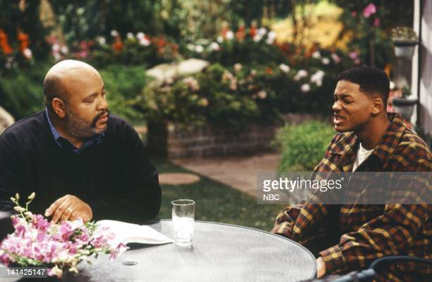 AIR THE The Ol' Ball and Chain Episode 20 Pictured James Avery as Philip Banks Will Smith as William 'Will' Smith Photo by Chris Haston/NBCU Photo...