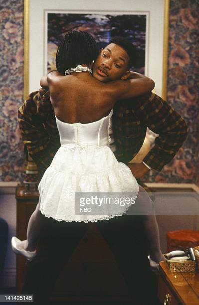 AIR THE The Ol' Ball and Chain Episode 20 Pictured Karen Malina White as Jewel Robertson Will Smith as William 'Will' Smith Photo by Chris...