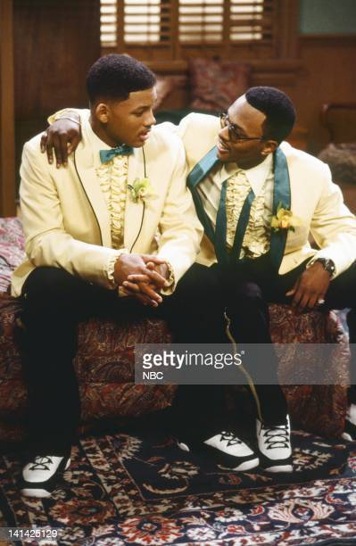 AIR THE 'The Ol' Ball and Chain' Episode 20 Pictured Will Smith as William 'Will' Smith Jeffrey A Townes as Jazz Photo by Chris Haston/NBCU Photo Bank