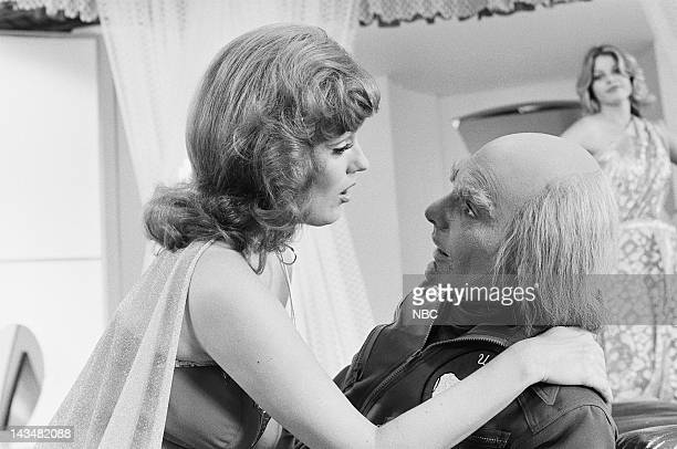 QUARK The Old and the Beautiful Episode 2 Aired 3/3/78 Pictured Barbara Rhoades as Princess Carna Richard Benjamin as Adam Quark