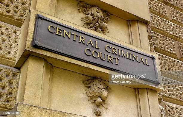 the old bailey, central criminal court, london - old bailey stock photos and pictures