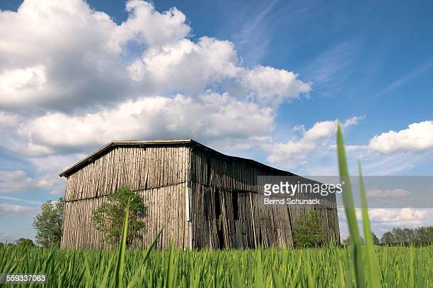 the old barn - bernd schunack photos et images de collection
