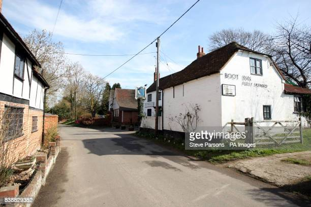 The Old Boot Inn at the village of Stanford Dingley West Berkshire