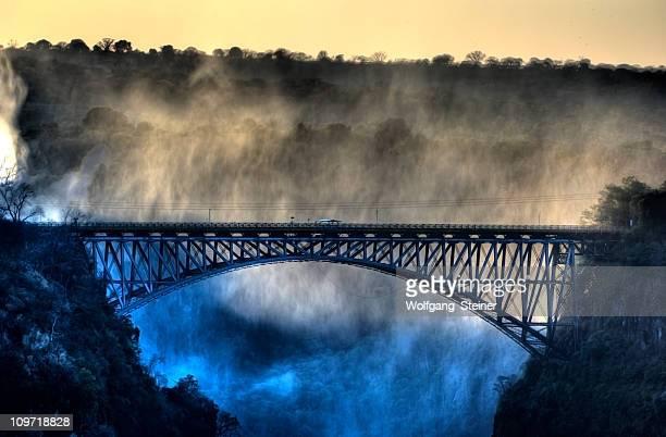 The old bridge at Victoria Falls