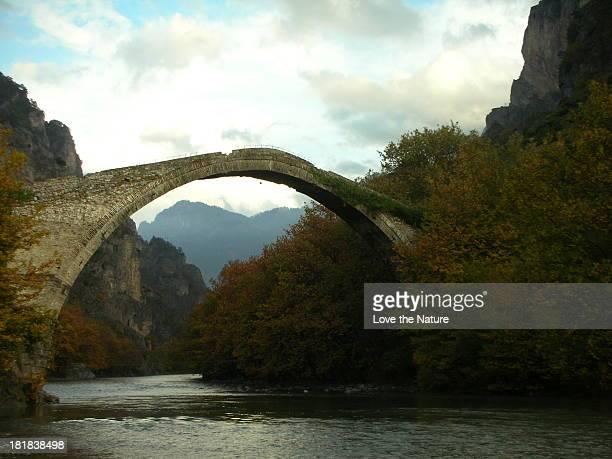 The old bridge in Konitsa ....