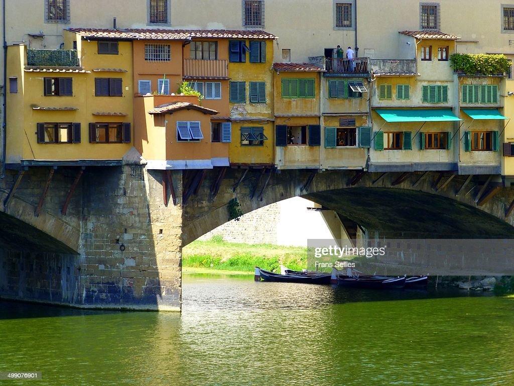 The old bridge (Florence, Italy) : Stockfoto