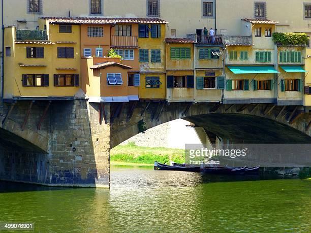 the old bridge (florence, italy) - frans sellies stockfoto's en -beelden