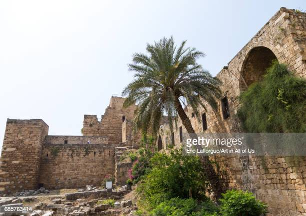 The old castle Mount Lebanon Governorate Byblos Lebanon on April 29 2017 in Byblos Lebanon