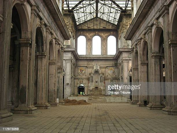 The old Cathedral of Managua was deemed unsafe after Nicaragua's 1972 earthquake and the country abandoned the building Its nave still hints at the...