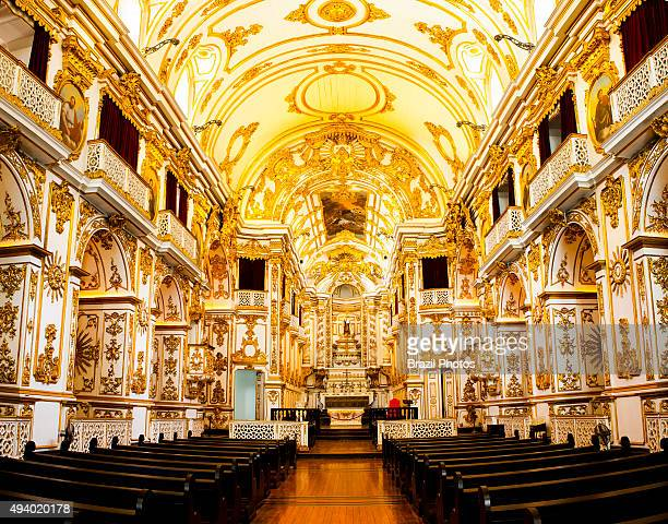 The Old Cathedral of Rio de Janeiro dedicated to Our Lady of Mount Carmel, , one of the most important historical buildings in the city, is an old...