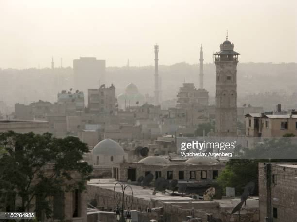 the old city of aleppo, syria - argenberg stock pictures, royalty-free photos & images