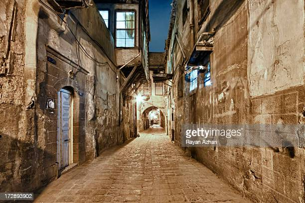 The old city of Damascus, Syria.