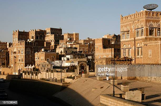 The old city of Sana'a a UNESCO World Heritage Site its unique architectural characteristics most notably expressed in its multistory buildings...