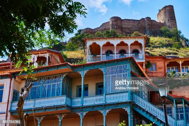 the old city of tbilisi, georgia - トビリシ ストックフォトと画像