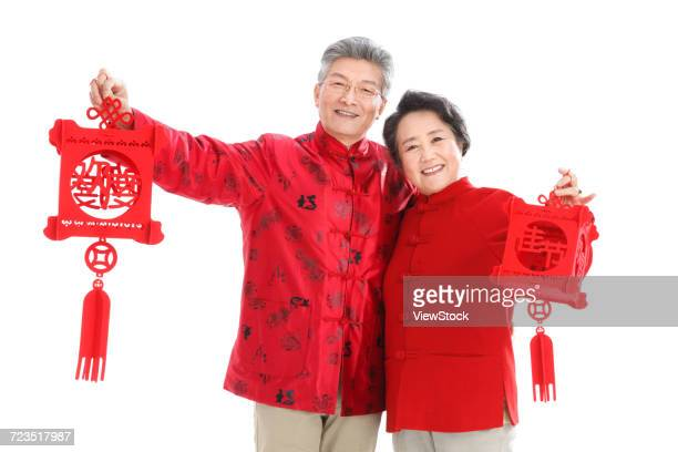 The old couple celebrate the new year