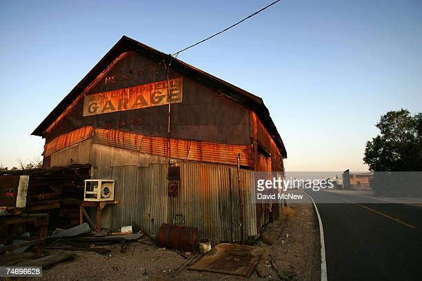 The old Daggett Garage is seen on June 16 2007 in Daggett California The building was an auto repair shop until when it became a mess hall for US...