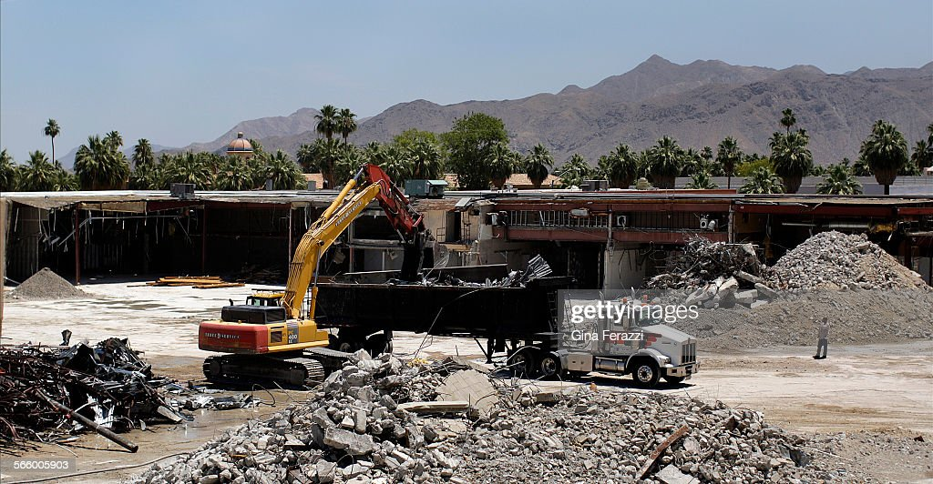The Old Desert Fashion Plaza Is Being Demolished To Make Room For A