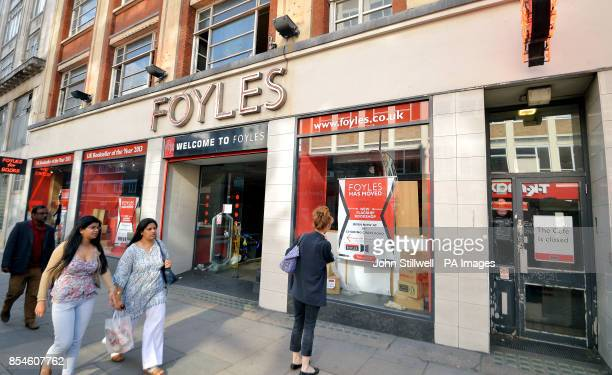 The old Foyles bookshop on Charing Cross Road London as a new flagship store has been officially opened PRESS ASSOCIATION Photo Picture date Friday...