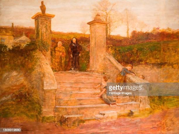 The Old Gate, 1868. Artist Fred Walker. .
