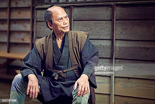 旧日本の江戸ペザント - edo period ストックフォトと画像
