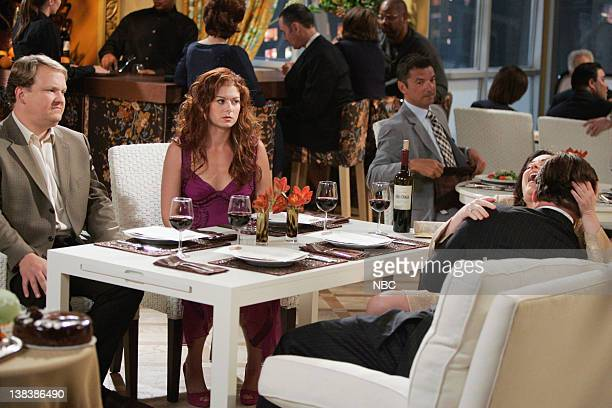 WILL GRACE The Old Man and the Sea Episode 3 Pictured Andy Richter as Dale Debra Messing as Grace Adler Megan Mullally as Karen Walker Alec Baldwin...