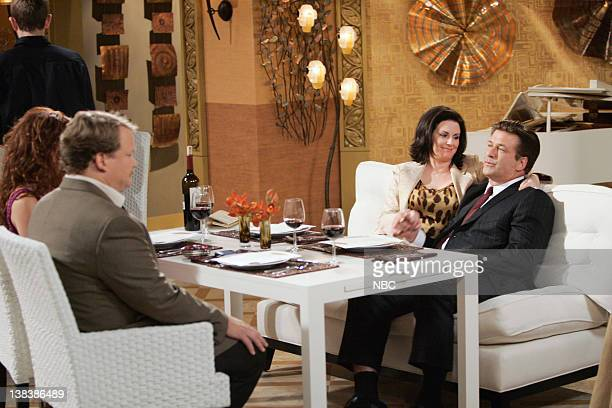WILL GRACE The Old Man and the Sea Episode 3 Pictured Debra Messing as Grace Adler Andy Richter as Dale Megan Mullally as Karen Walker Alec Baldwin...