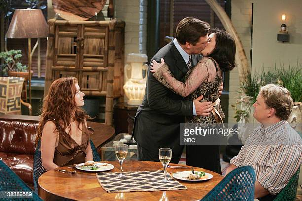 WILL GRACE The Old Man and the Sea Episode 3 Pictured Debra Messing as Grace Adler Alec Baldwin as Malcolm Megan Mullally as Karen Walker Andy...