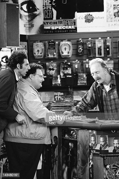 SEINFELD The Old Man Episode 18 Pictured Michael Richards as Cosmo Kramer Wayne Knight as Newman Tobin Bell as Jack