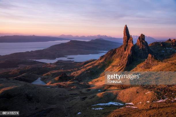 The Old Man of Storr in Isle of Skye