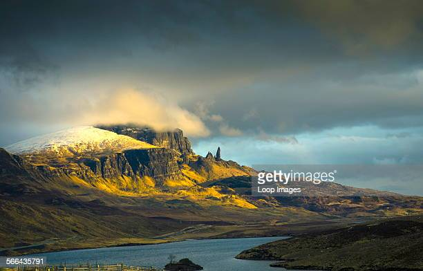 The Old Man of Storr on the Trotternish peninsula on the Isle of Skye