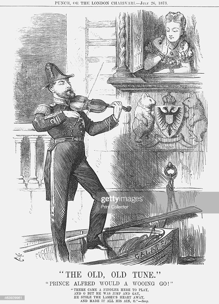 The Old, Old Tune, 1873. Artist: Joseph Swain : News Photo