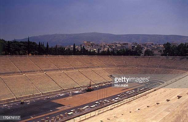 The Old Olympic Stadium in Athens.