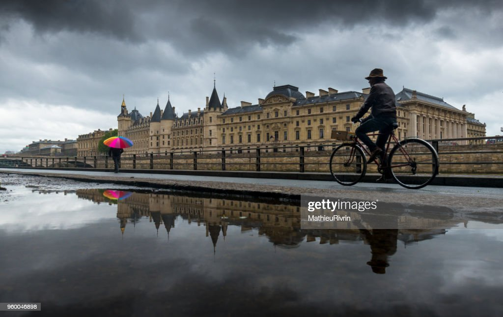 The old Paris : Stock Photo