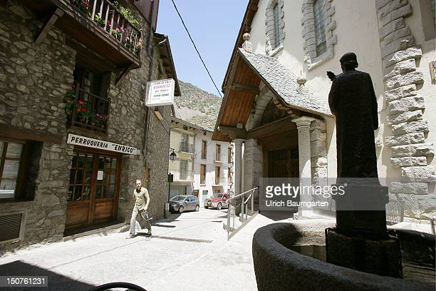 The old part of Andorra la Vella